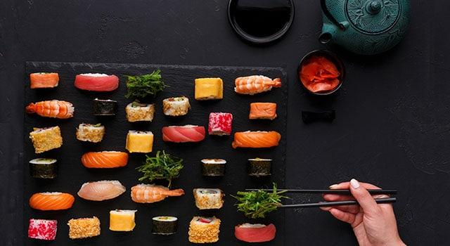 sushi sicuro