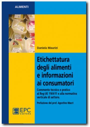 etichettatura alimenti libro daniela maurizi