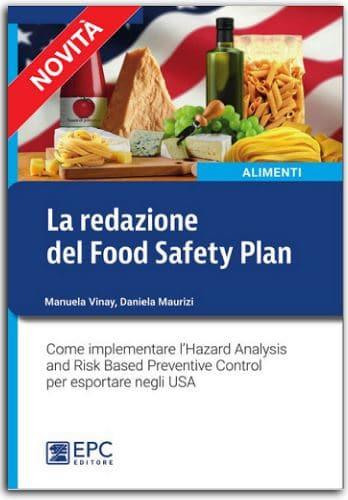 redazione food safety plan libro daniela maurizi