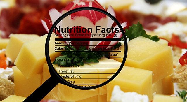 come calcolare calorie alimenti