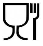 simbolo bicchiere e forchetta